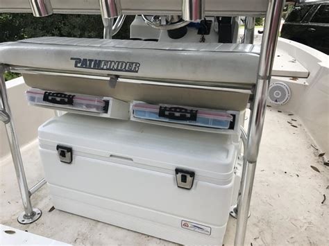 Cheap Boat Storage by Cheap And Easy Leaning Post Tackle Storage Update