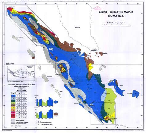 agro climatic map  sumatra   double