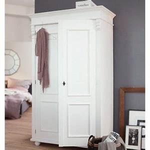 Kleiderschrank Weiß Vintage : landhaus schrank schrank antik kleiderschrank weiss in ~ Watch28wear.com Haus und Dekorationen