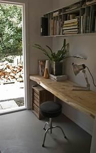 Bureau Bois Brut : 17 best ideas about bureau bois on pinterest bureau ordinateur coin d 39 tudes and ordinateur ~ Melissatoandfro.com Idées de Décoration