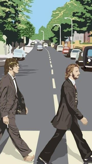 beatles vector abbey road  image hd wallpapers