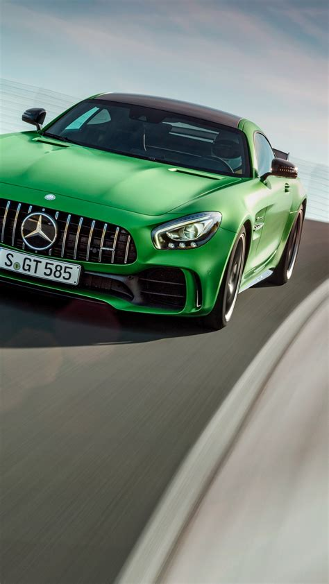 Wallpaper Mercedes-AMG GT R, green, Goodwood Festival of Speed 2016, Cars & Bikes #11390
