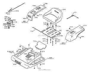 Dixon Ztr 3303  1995  Parts Diagram For Body Assembly