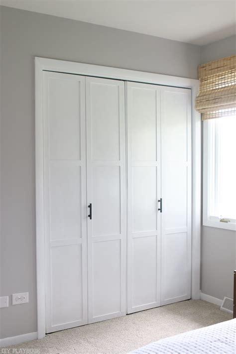 diy door tutorial  add trim  plain bifold doors