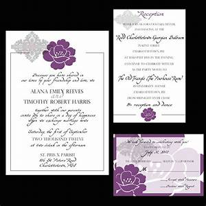 free wedding reception invitations for a bewitching With wedding invitations venue address