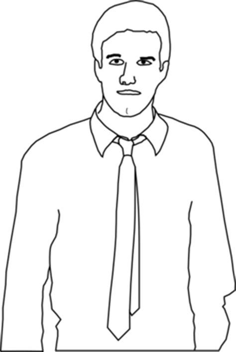 color wheel  man  tie clipart