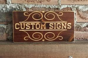 Custom, Wood, Signs, Wooden, Signs, Custom, Signs, Carved, Sign
