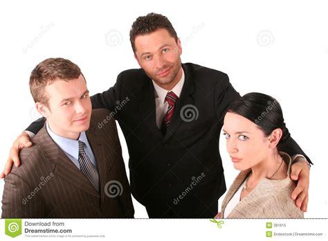 promotion ordinateur de bureau 2 hommes 1 équipe d 39 affaires de femme photo libre de