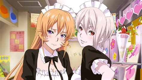 food wars alice nakiri erina nakiri anime girls