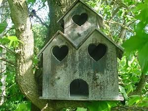 Oiseaux Decoration Exterieur : cabane oiseaux en bois mes coups de coeur d co pinterest cabane oiseaux oiseaux et cabane ~ Melissatoandfro.com Idées de Décoration