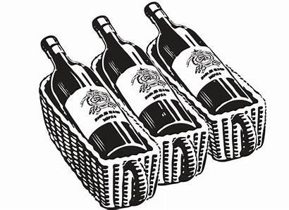 Bottle Wine Whiskey Beer Bourbon Silhouette Cellar