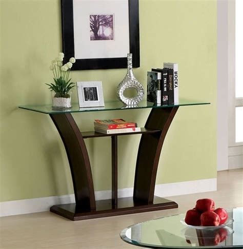 cherry sofa table with glass top keystone dark cherry unique wood base glass top sofa table