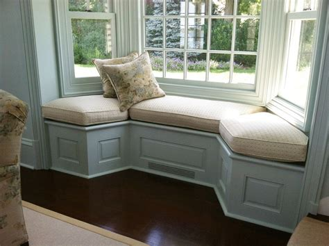 Is the bench movable or attached to the wall? 13+ Excellent Bay Window Seat Examples for Your Recess ...