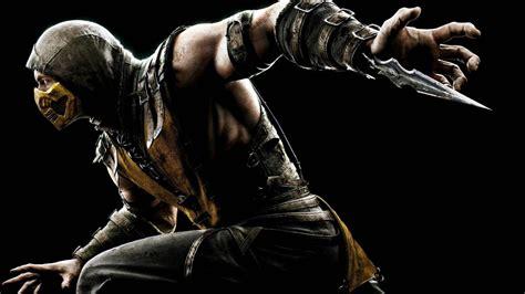 Video Games Scorpion Character Mortal Kombat