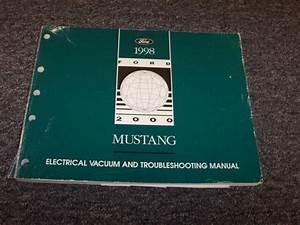1998 Ford Mustang Electrical Wiring  U0026 Vacuum Diagram