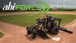 Abi Force - Motorized Infield Groomer