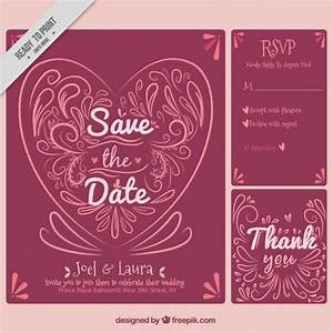 red wedding invitation template vector free download With wedding invitations ai template