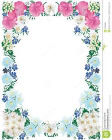 Pink and White Flower Frame
