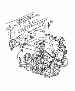 2002 Jeep Liberty Hose  Heater Supply   Transmissions