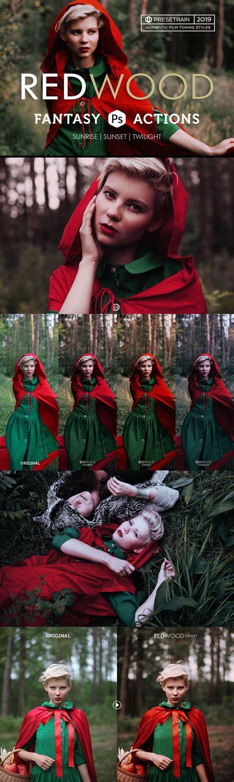 redwood photoshop actions photoshop add ons creative