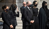 Royal funeral: Prince Albert of Monaco leads masked ...