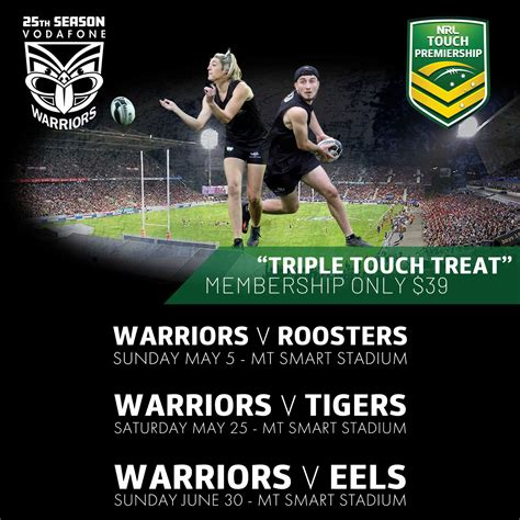 NRL Touch Premiership: Discount Ticket Offer