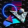 80's Abstract New-Wave Art on Behance