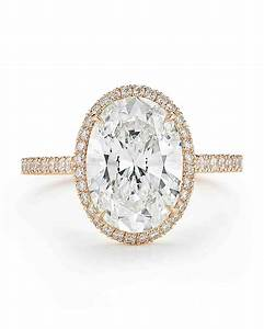 oval engagement rings for the bride to be martha stewart With oval diamond wedding rings