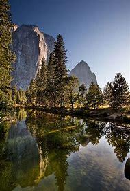 Cathedral Rocks Yosemite National Park