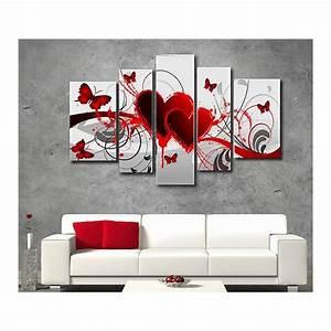 Tableau Peinture Pas Cher : tableau original pas cher maison design ~ Teatrodelosmanantiales.com Idées de Décoration