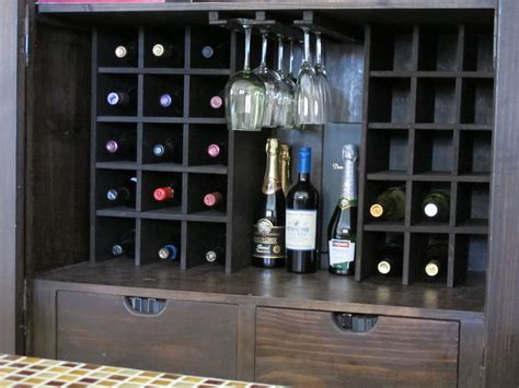 How To Build A Wine Cabinet by Building Wine Storage In An Armoire Leaving Celestia
