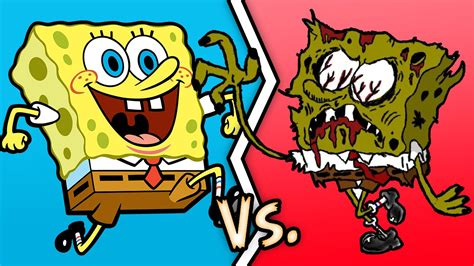 The Gallery For --> Spongebob Vs Zombies