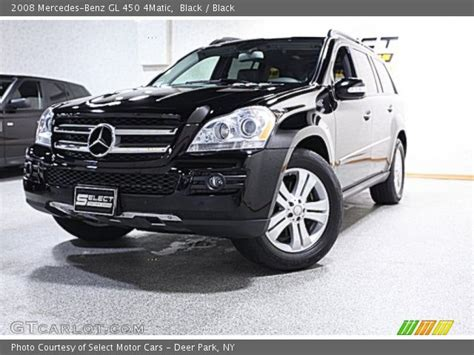 The gl450 and gl320 cdi are equipped identically, save for their powertrains. Black - 2008 Mercedes-Benz GL 450 4Matic - Black Interior ...