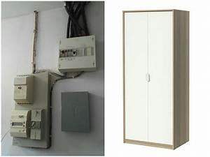 Comment Cacher Un Compteur électrique Dans Une Entrée : bo te cache tableau lectrique ~ Melissatoandfro.com Idées de Décoration
