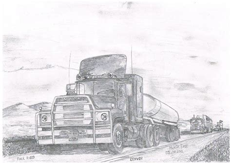 mack classic truck drawings google search classic truck monster truck bedroom cartoon car