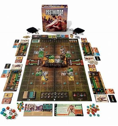 Posthuman Saga Boards Mighty Board Features Kickstarter
