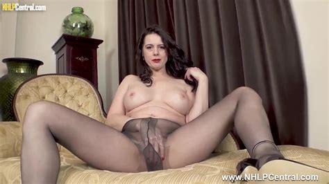 Big Tits Milf Karina Currie Fucks Big Cock Toy In Slinky