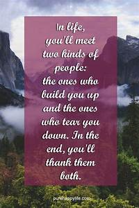 Inspirational Quote In Life You39ll Meet Two Kinds Of