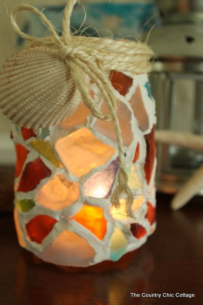 sea glass craft projects   fun  easy