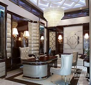 Luxury, Antonovich, Design, Uae, Office, Interior, From, Luxury, Antonovich, Design