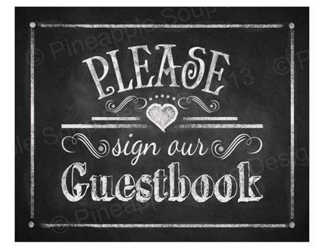 Printable Wedding Chalkboard Sign