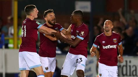 Predicted West Ham XI to face Manchester City in the ...