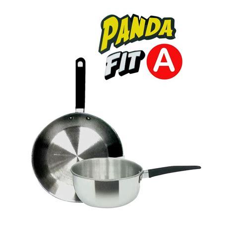 Wajan Maspion Cap Panda home klik maspion panda fit a set wajan penggorengan sauce