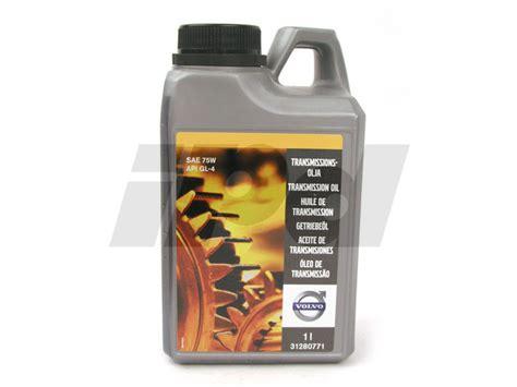 manual transmission oil genuine volvo