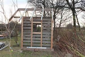 Gartenhaus Aus Paletten : rustikales gartenhaus aus paletten t ren und dielen teil 2 blog an na haus und gartenblog ~ A.2002-acura-tl-radio.info Haus und Dekorationen