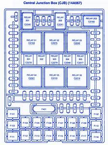 Ford F150 Xlt 4 U00d74 2006 Junction Fuse Box  Block Circuit Breaker Diagram