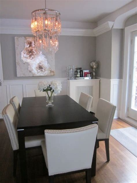 25 best ideas about gray dining rooms on