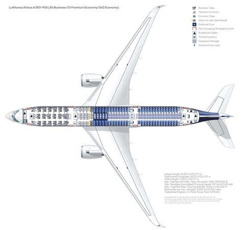 Fotostrecke: Sitzplatzkonfiguration der Lufthansa