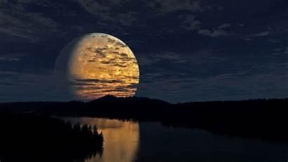 Moon River Desktop Wallpapers Luna Nature Cielo