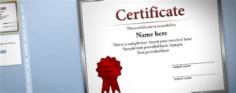 certificate templates powerpoint